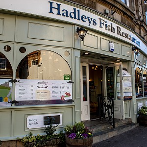 Hadley's Fish and Chip Restaurant in Whitby